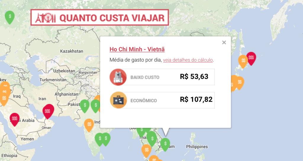 Quanto Custa Viajar 2