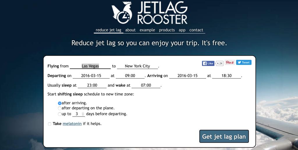 Jet Lag Rooster
